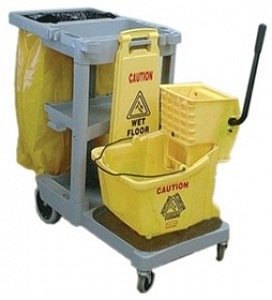 Custodial-Recycling.Custodial Cart