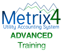Metrix 4 Utility Bill Accounting Software Training