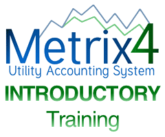 Metrix 4 Software Training