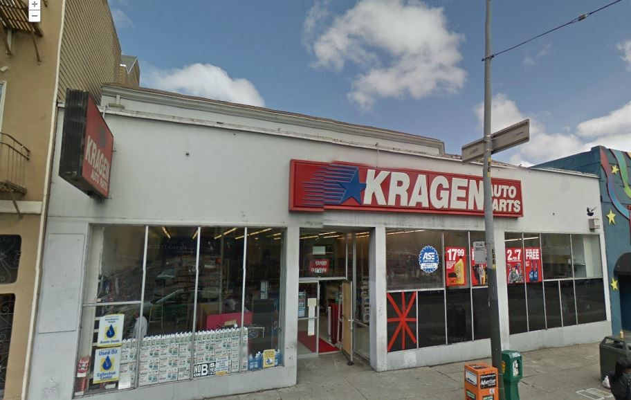 Kragen Auto Parts, San Francisco