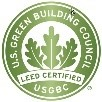 Sustainability-Corporate Social Responsibility Overview.USGBC Logo